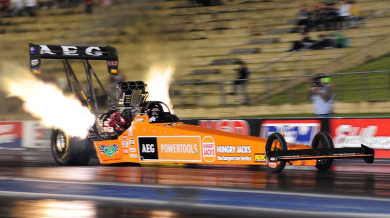 Top Fuel Champion Darren Morgan Speaks About Sponsorship
