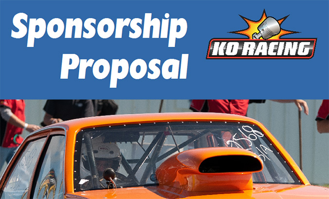 KO Racing Sponsorship Proposal